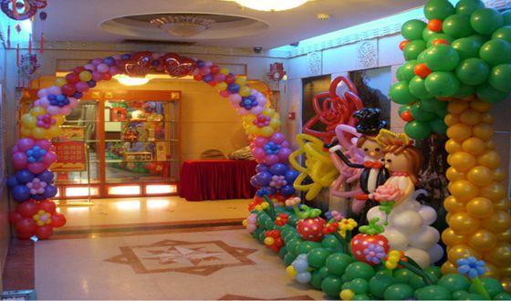 長沙專業的氣球布展氣球裝飾公司