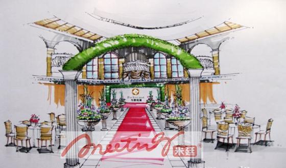 婚礼手绘效果--使您的婚礼更美-行业资讯-米廷会展()
